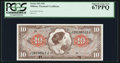 Military Payment Certificates:Series 641, Series 641 $10 PCGS Superb Gem New 67PPQ.. ...