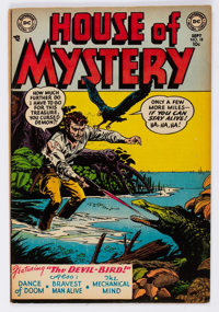 House of Mystery #18 (DC, 1953) Condition: FN