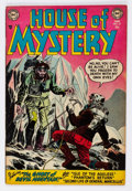 Golden Age (1938-1955):Horror, House of Mystery #22 (DC, 1954) Condition: FN....