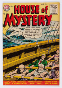 House of Mystery #39 (DC, 1955) Condition: VF