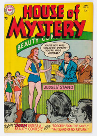 House of Mystery #34 (DC, 1955) Condition: VF-