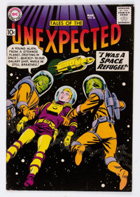 Tales of the Unexpected #35 (DC, 1959) Condition: VF-