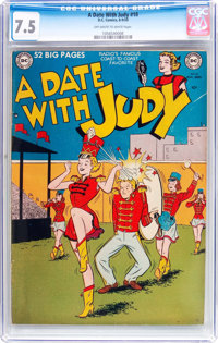A Date With Judy #18 (DC, 1950) CGC VF- 7.5 Off-white to white pages