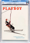 Magazines:Vintage, Playboy V5#11 (HMH Publishing, 1958) CGC NM+ 9.6 White pages....
