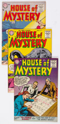 Silver Age (1956-1969):Horror, House of Mystery Group of 25 (DC, 1955-61) Condition: AverageFN.... (Total: 25 Comic Books)