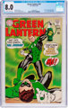 Green Lantern #59 (DC, 1968) CGC VF 8.0 Off-white to white pages