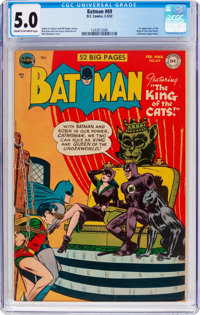 Batman #69 (DC, 1952) CGC VG/FN 5.0 Cream to off-white pages
