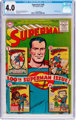 Superman #100 (DC, 1955) CGC VG 4.0 Off-white to white pages