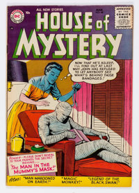 House of Mystery #48 (DC, 1956) Condition: FN/VF