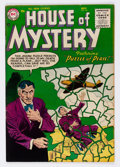 Golden Age (1938-1955):Horror, House of Mystery #44 (DC, 1955) Condition: FN/VF....