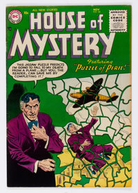 House of Mystery #44 (DC, 1955) Condition: FN/VF