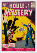 Silver Age (1956-1969):Horror, House of Mystery #52 (DC, 1956) Condition: FN/VF....