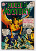 Golden Age (1938-1955):Horror, House of Mystery #59 (DC, 1963) Condition: VF-....