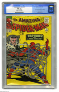 Silver Age (1956-1969):Superhero, The Amazing Spider-Man #25 (Marvel, 1965) CGC NM- 9.2 Off-white to white pages. Mary Jane Watson sort of makes her first...