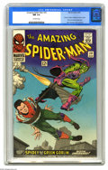 Silver Age (1956-1969):Superhero, The Amazing Spider-Man #39 (Marvel, 1966) CGC NM 9.4 Off-whitepages. This issue is, depending on your personal tastes and l...