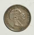 Luxembourg, Luxembourg: Grand Duke Adolphe Silver Pattern 10 Centimes 1901,...