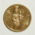 Luxembourg, Luxembourg: 300th Anniversary of Patron Saint Essai gold Medallic40 Francs 1966,...