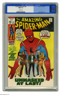 Bronze Age (1970-1979):Superhero, The Amazing Spider-Man #87 (Marvel, 1970) CGC NM+ 9.6 Off-whitepages. This is the nicest copy we've ever offered of this pa...