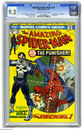 Bronze Age (1970-1979):Superhero, The Amazing Spider-Man #129 (Marvel, 1974) CGC NM- 9.2 Off-white towhite pages. One of the key books of Marvel's Bronze Age...