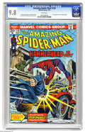 Bronze Age (1970-1979):Superhero, The Amazing Spider-Man #130 (Marvel, 1974) CGC NM/MT 9.8 Whitepages. What a beautiful copy - CGC currently lists just one c...