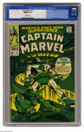 Silver Age (1956-1969):Superhero, Captain Marvel #3 (Marvel, 1968) CGC NM/MT 9.8 Off-white pages. Super-Skrull story. Gene Colan cover and art. Overstreet 200...