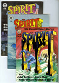 Magazines:Superhero, The Spirit Group (Kitchen Sink, 1978-81) Condition: AverageVF/NM.... (Total: 9 Comic Books)
