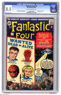 Silver Age (1956-1969):Superhero, Fantastic Four #7 (Marvel, 1962) CGC VF+ 8.5 Cream to off-white pages. Jack Kirby's cover for this issue recalls his monster...
