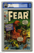 Bronze Age (1970-1979):Horror, Fear #1 Pacific Coast pedigree (Marvel, 1970) CGC NM 9.4 Off-whiteto white pages. Artists include Jack Kirby. Overstreet 20...
