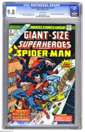 Bronze Age (1970-1979):Superhero, Giant-Size Super-Heroes #1 (Marvel, 1974) CGC NM/MT 9.8 Whitepages. This sensational copy is the only one of this issue tha...