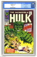 Silver Age (1956-1969):Superhero, The Incredible Hulk #102 (Marvel, 1968) CGC NM/MT 9.8 White pages. The grade assigned by CGC speaks volumes - this is one he...
