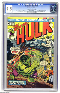 The Incredible Hulk #180 (Marvel, 1974) CGC NM/MT 9.8 Off-white to white pages. If you want the very first appearance of...
