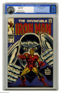 Silver Age (1956-1969):Superhero, Iron Man #8 Pacific Coast pedigree (Marvel, 1968) CGC NM+ 9.6 Off-white to white pages. George Tuska cover. Tuska and Johnny...