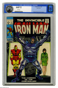 Iron Man #12 Pacific Coast pedigree (Marvel, 1969) CGC NM/MT 9.8 White pages. The Controller made his first appearance h...