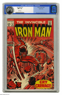 Iron Man #13 Pacific Coast pedigree (Marvel, 1969) CGC NM+ 9.6 White pages. Jack Kirby cover. George Tuska and Johnny Cr...