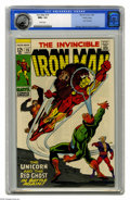Silver Age (1956-1969):Superhero, Iron Man #15 Pacific Coast pedigree (Marvel, 1969) CGC NM+ 9.6 White pages. George Tuska cover. Tuska and Johnny Craig art. ...