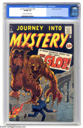 "Golden Age (1938-1955):Horror, Journey Into Mystery #72 (Marvel, 1961) CGC VF/NM 9.0 Cream tooff-white pages. ""The most fantastic and frightening..."
