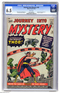 Silver Age (1956-1969):Superhero, Journey Into Mystery #83 (Marvel, 1962) CGC FN+ 6.5 White pages. The Mighty Thor made his first appearance in this issue, an...