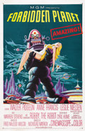 "Movie Posters:Science Fiction, Forbidden Planet (MGM, 1956). One Sheet (27"" X 41""). ..."