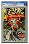 Bronze Age (1970-1979):Superhero, The Silver Surfer #18 (Marvel, 1970) CGC NM+ 9.6 Off-white to whitepages. The Surfer's co-creators Jack Kirby and Stan Lee ...