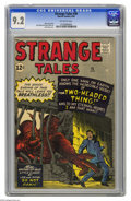Silver Age (1956-1969):Science Fiction, Strange Tales #95 (Marvel, 1962) CGC NM- 9.2 Off-white pages. Checkout the highest graded copy yet certified of this monste...