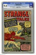 Silver Age (1956-1969):Superhero, Strange Tales #105 (Marvel, 1963) CGC NM 9.4 Cream to off-whitepages. No copy of this issue has been graded higher by CGC t...