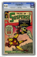 Silver Age (1956-1969):Superhero, Tales of Suspense #49 (Marvel, 1964) CGC VF/NM 9.0 Cream to off-white pages. This issue's Iron Man story, guest-starring the...