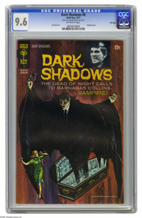 Dark Shadows #8 File Copy (Gold Key, 1971) CGC NM+ 9.6 Off-white pages. Painted covers begin with this issue, based on t...