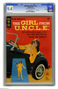 Silver Age (1956-1969):Miscellaneous, Girl From U.N.C.L.E. #2 File Copy (Gold Key, 1967) CGC NM 9.4 Off-white to white pages. Photo front and back covers featurin...