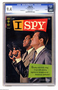 Silver Age (1956-1969):Mystery, I Spy #1 File Copy (Gold Key, 1966) CGC NM 9.4 Off-white pages.This issue features a Bill Cosby and Robert Culp photo cover...