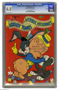 Golden Age (1938-1955):Cartoon Character, Looney Tunes and Merrie Melodies Comics #5 File Copy (Dell, 1942)CGC FN+ 6.5 Off-white to white pages. This issue features ...