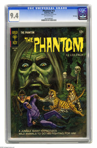 Phantom #12 File Copy (Gold Key, 1965) CGC NM 9.4 Off-white pages. Track Hunter begins. Painted cover. Overstreet 2005 N...