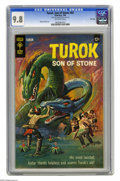 Silver Age (1956-1969):Adventure, Turok Son of Stone #62 File Copy (Gold Key, 1968) CGC NM/MT 9.8 Off-white pages. Painted cover; Alberto Giolitti story art. ...