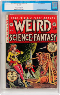 Weird Science-Fantasy Annual #1 (EC, 1952) CGC VF+ 8.5 Light tan to off-white pages