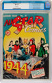 All Star Comics #21 Mile High Pedigree (DC, 1944) CGC NM 9.4 White pages